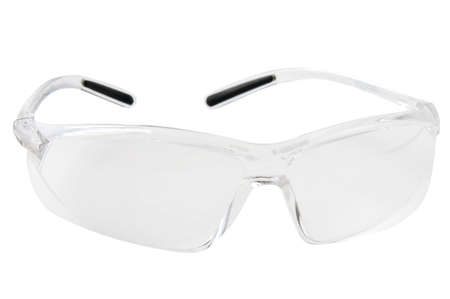The isolated  plastic safety glasses Stock Photo - 9652702