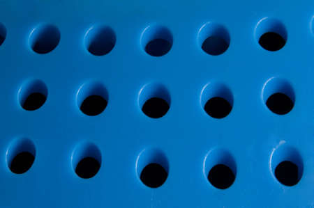loudspeaker: the holes of blue loudspeaker
