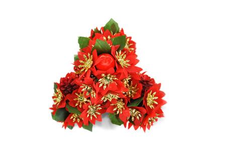 Isolated Christmas ornament, mistletoe