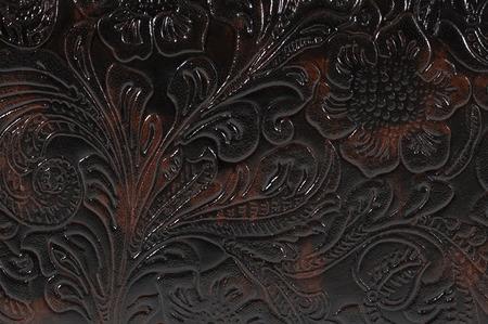 floral design leather