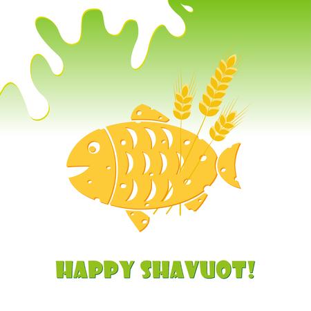 Jewish holiday of Shavuot, cheese fish