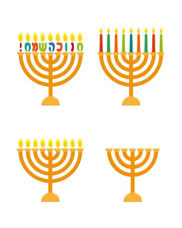 Menorah set hanukkah menorah jewish holiday candlesticks for menorah set hanukkah menorah jewish holiday candlesticks for nine candles greeting inscription hebrew m4hsunfo