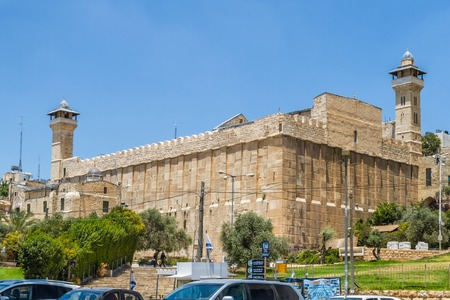 Cave of the Patriarchs, Cave of Machpelah in Hebron, Israel