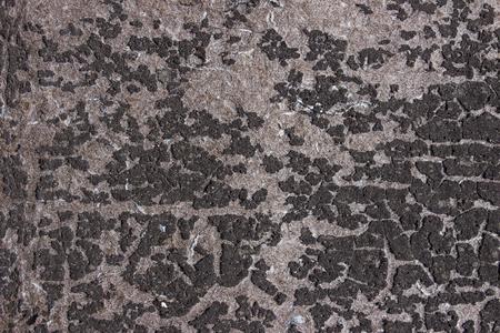 bitumen felt: Roofing felt old black texture with spot Stock Photo