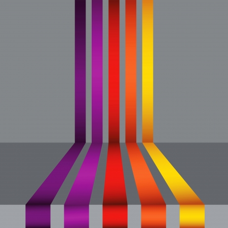 colorful illustration with abstract background for your design Stock Illustration - 18431070