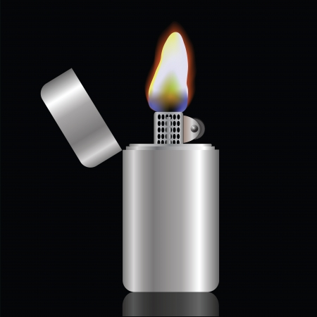 colorful illustration with lighter  for your design Stock Illustration - 18587140