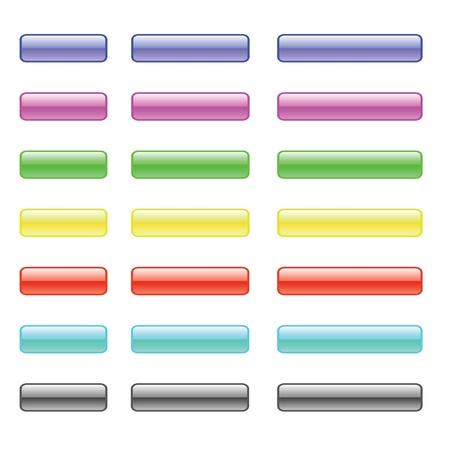 gran angular: conjunto de botones de vidrio colorido para su dise�o