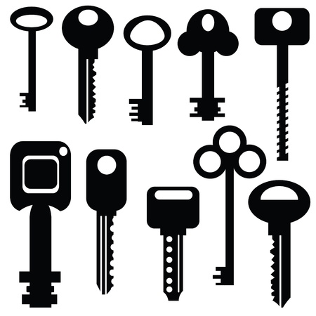 set of keys for your design Stock Vector - 21379051
