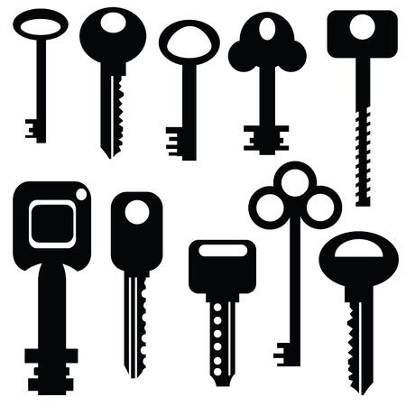 set of keys for your design Stock Vector - 21379051