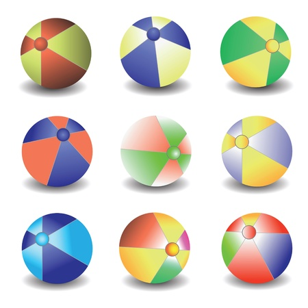 colorful illustration with balls for your design Stock Vector - 21657976