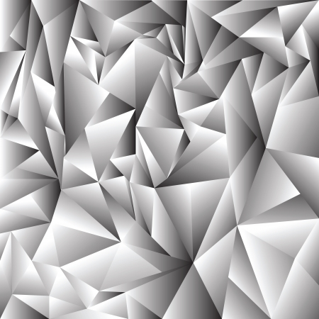 ray tracing: illustration with  abstract crystal background for your design Illustration