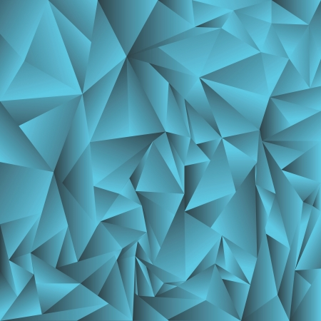 colorful illustration with blue crystal background for your design Vector