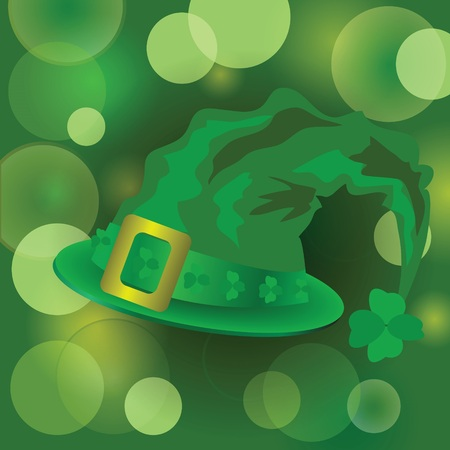 colorful illustration Patrick day  for your design