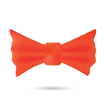 official wear: colorful illustration with  red bow for your design Illustration