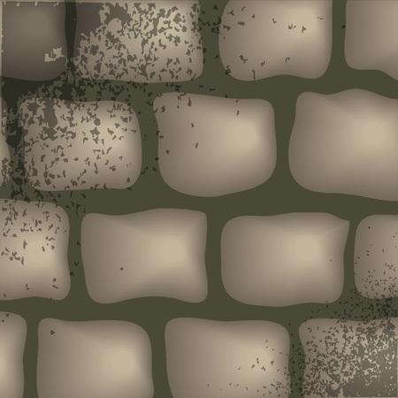 fondo de piedra: colorida ilustraci�n con fondo de piedra para su dise�o Vectores