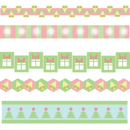 colorful illustration with  xmass background for your design illustration