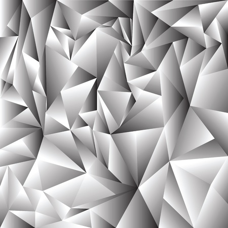ray tracing: illustration with  abstract crystal background for your design Stock Photo