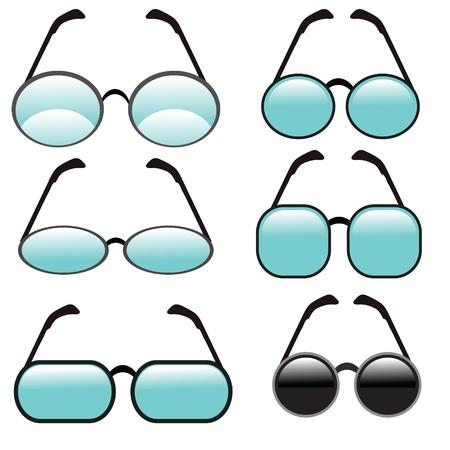 elementos de protección personal: colorida ilustración con juego de copas en un fondo blanco