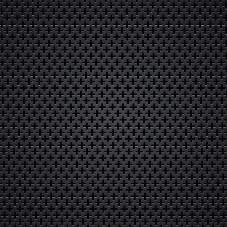 illustration  with perforated texture on dark  background Vector