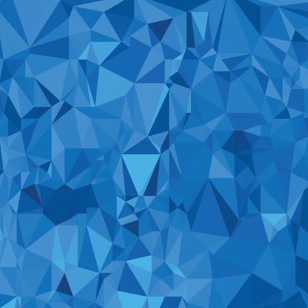 illustration  with abstract  polygonal blue  background