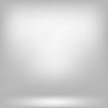 Empty White Studio Backdrop. Background empty room with space. Illustration