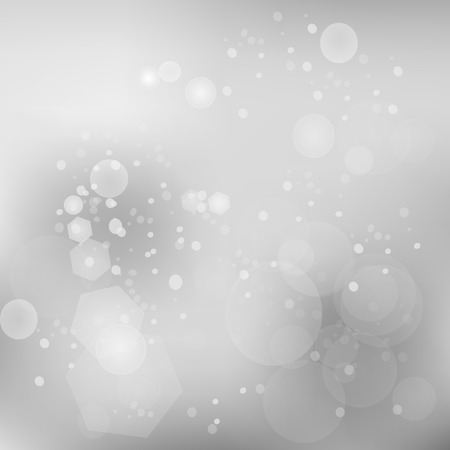 Grey Abstract Blurred Background Illustration
