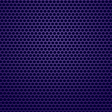 perforated: Blue Perforated . Blue Iron with Circle Holes.