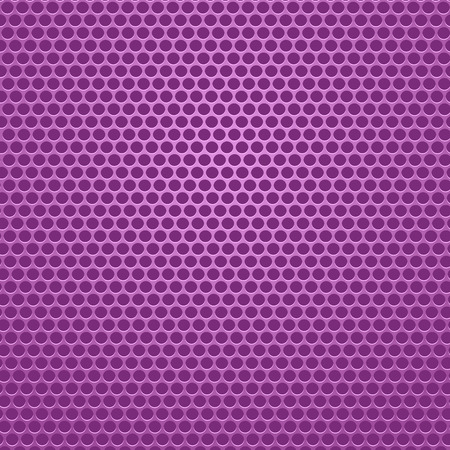 perforated: Pink Iron Perforated Background. Abstract Circle Pattern.