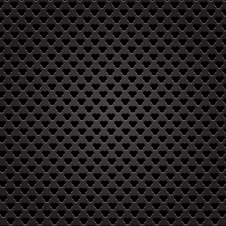 perforated: Iron Perforated Texture. Dark Metal Perforated Background.