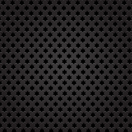 perforated: Metal Perforated Texture. Dark Iron Perforated Background.