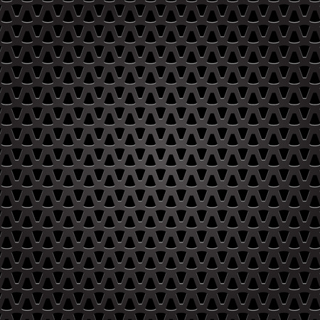 perforated: Metal Perforated Background. Dapk Iron Perforated Texture.