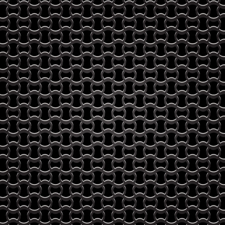 Metal Perforated Background. Dark Iron Perforated Texture.