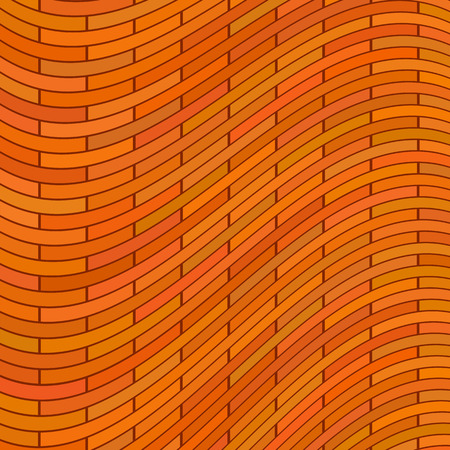 red brick: Morern Red Brick Wall Background. Brick Texture. Illustration