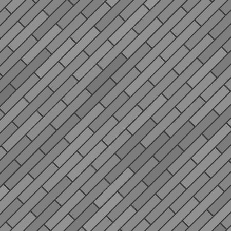 brick background: Sfondo grigio di mattoni. Old Grey Brick Wall.