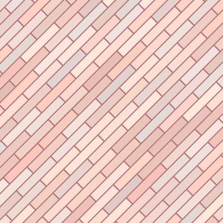 brick background: Sfondo rosa Old Brick Vettoriali