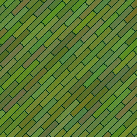 brickwork: Green Brick Background Illustration