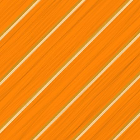 Orange Wood Background. Wood Diagonal Orange Planks. Illustration