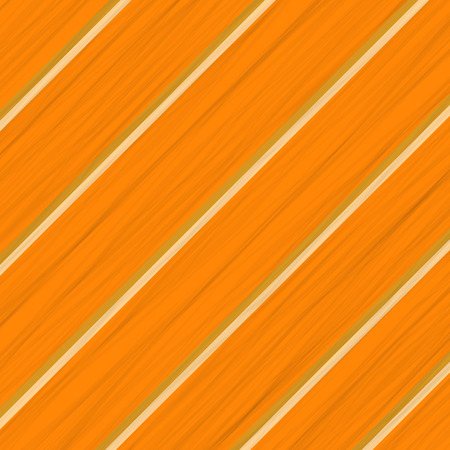 Orange Wood Background. Wood Diagonal Orange Planks. Illustration