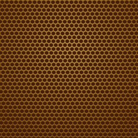 perforated: Iron Perforated Texture. Metal Perforated Pattern. Part of Music Speaker. Stock Photo