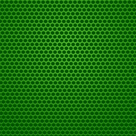 perforated: Perforated Metal Green Background. Abstract Green Pattern.
