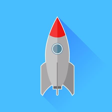 Pocket Icon Isolated on Blue Background photo