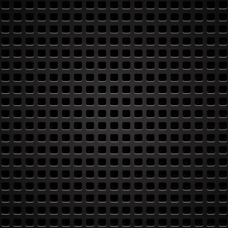 perforated: Dark Iron Perforated Background Stock Photo