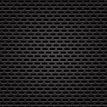 perforated: Iron Perforated Background Stock Photo