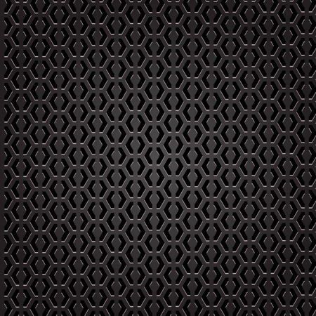 perforated: Dark Iron Perforated Background Stock Photo