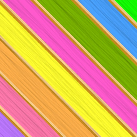 boarded: Colorful Wood Background. Abstract Colored Planks Patten.