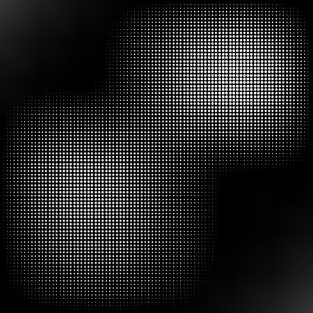 patron de circulos: Tono medio aislado en el fondo Negro. Punteado textura abstracta. Sucio Da�ado patr�n c�rculos manchados.