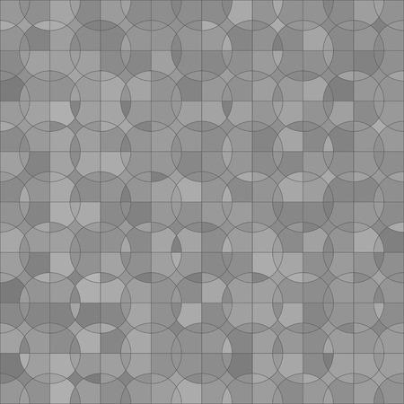 grey pattern: Abstract Circle Grey Background. Grey Mosaic Pattern. Illustration