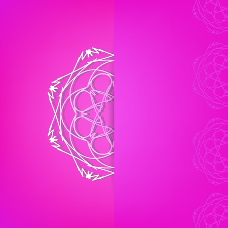 abstract pink: Abstract Ornamental Pink Background.  Abstract Pink Pattern.