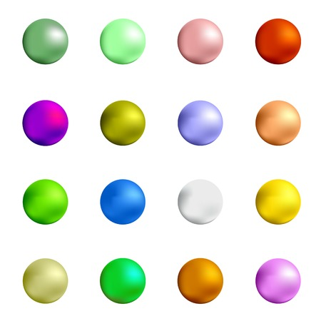 gumball: Colorful Sweet Gumball Isolated on White Background