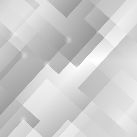 Abstract Grey Background. Grey Square Light Pattern. 写真素材